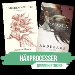kvinnohistorier, Böcker, Kvinnohistorier